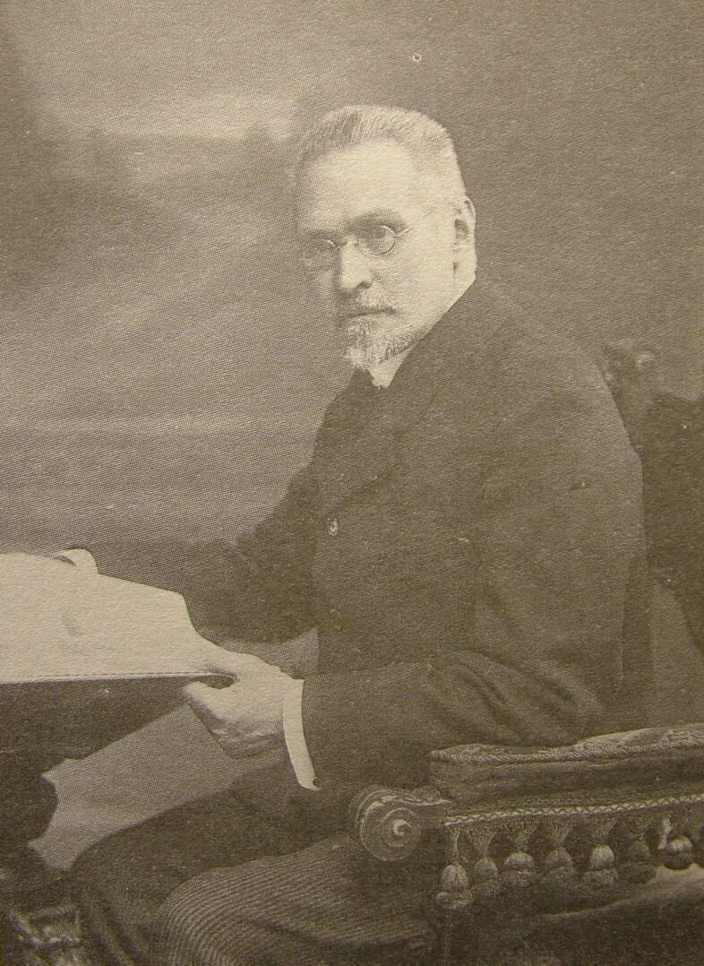 Российский историк Сергей Платонов.1913.