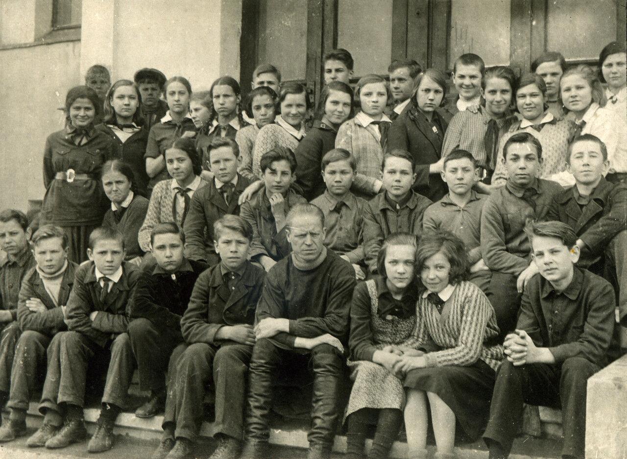 1934г. Седьмой класс