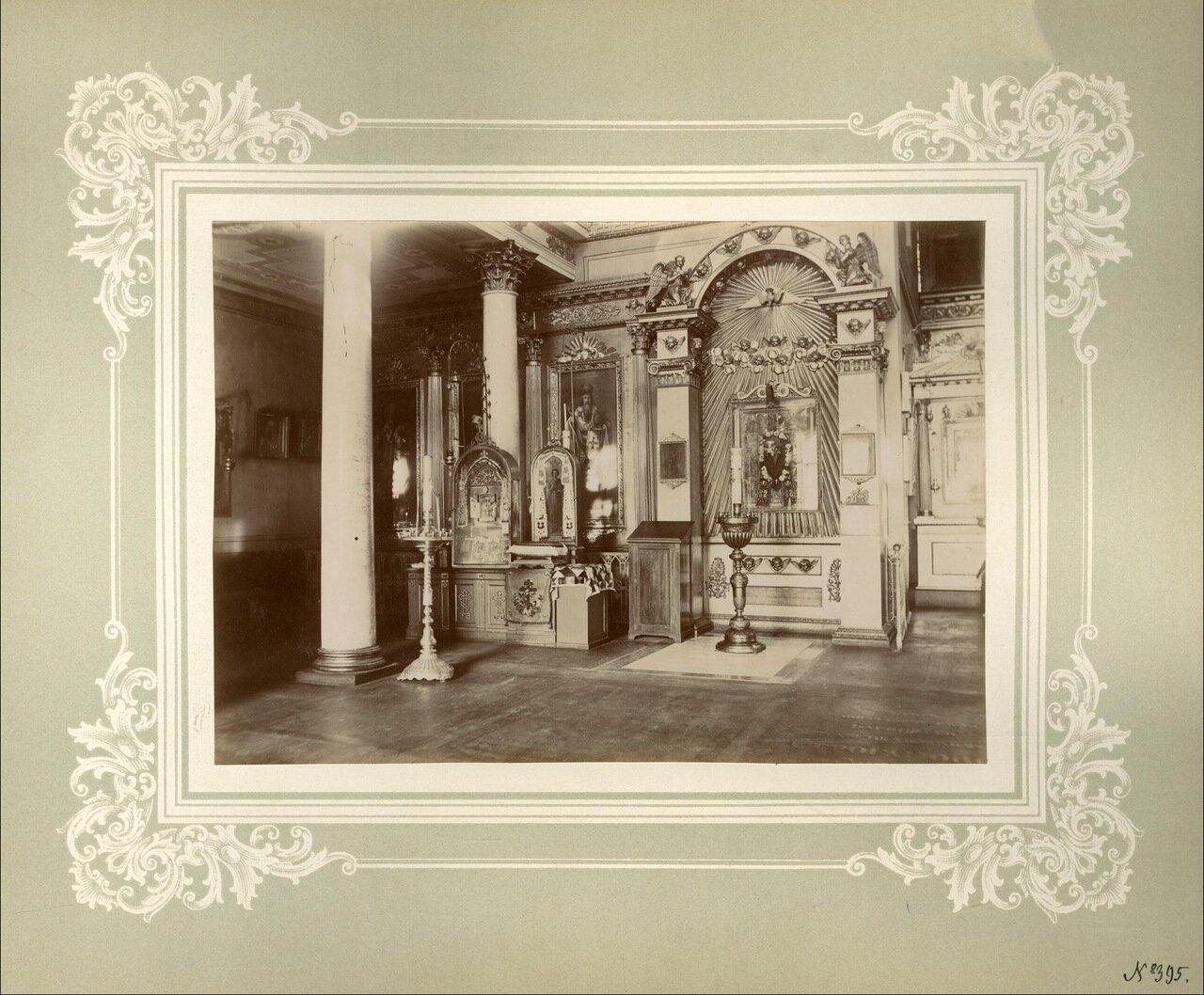 Афонские святыни в левой части Духовской церкви