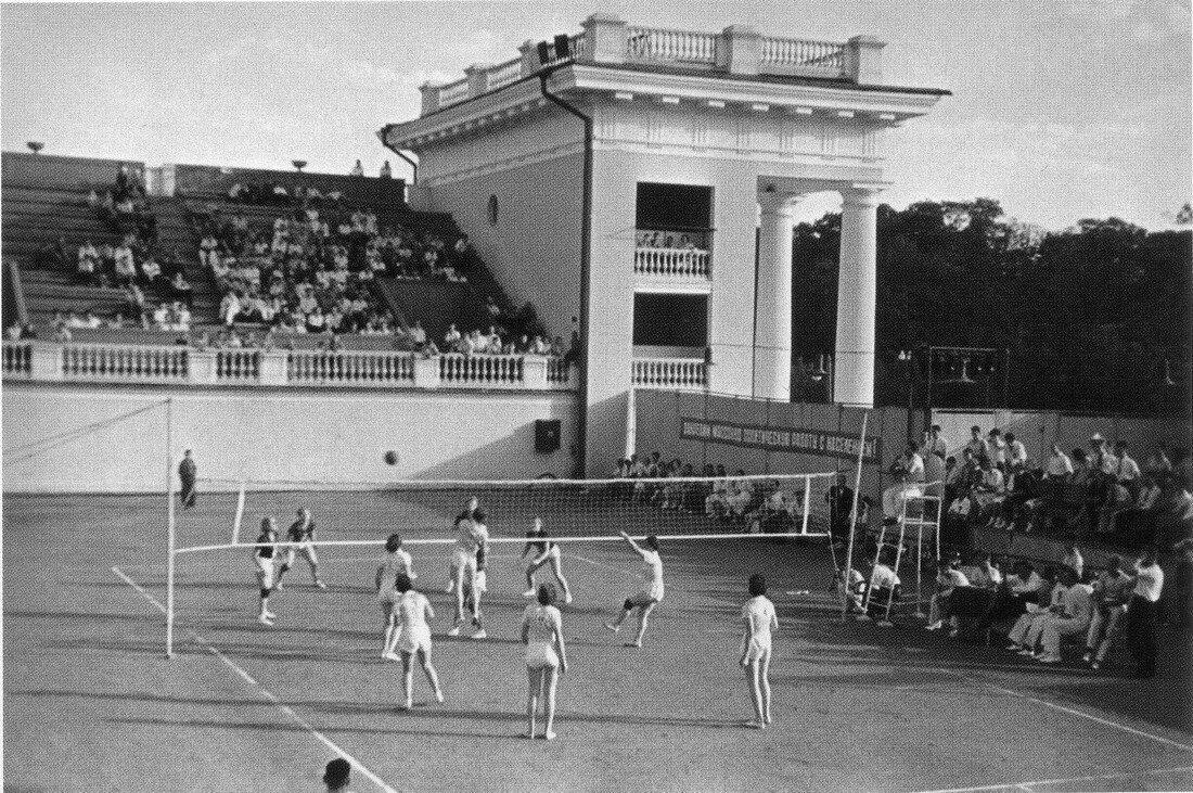 1930-е. Москва. Стадион Динамо