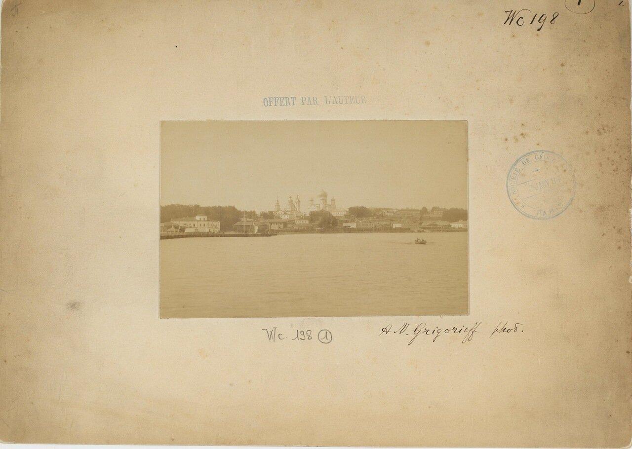 Петрозаводск. Вид на Онежское озеро.