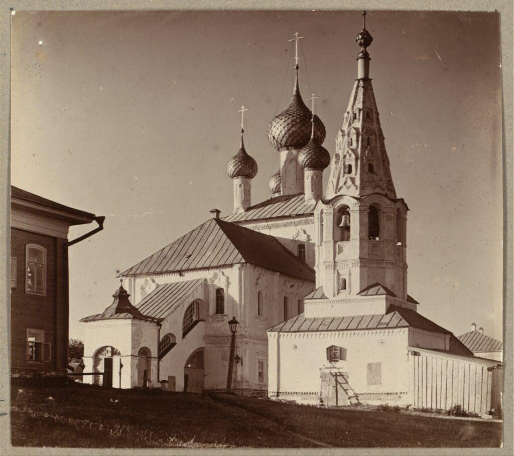 Церковь Св. Леонтия Ростовского на Заволжской стороне. Углич. 1910
