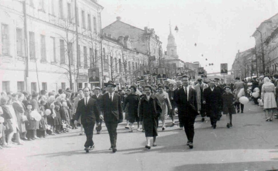 Рыбинск 1964 г.