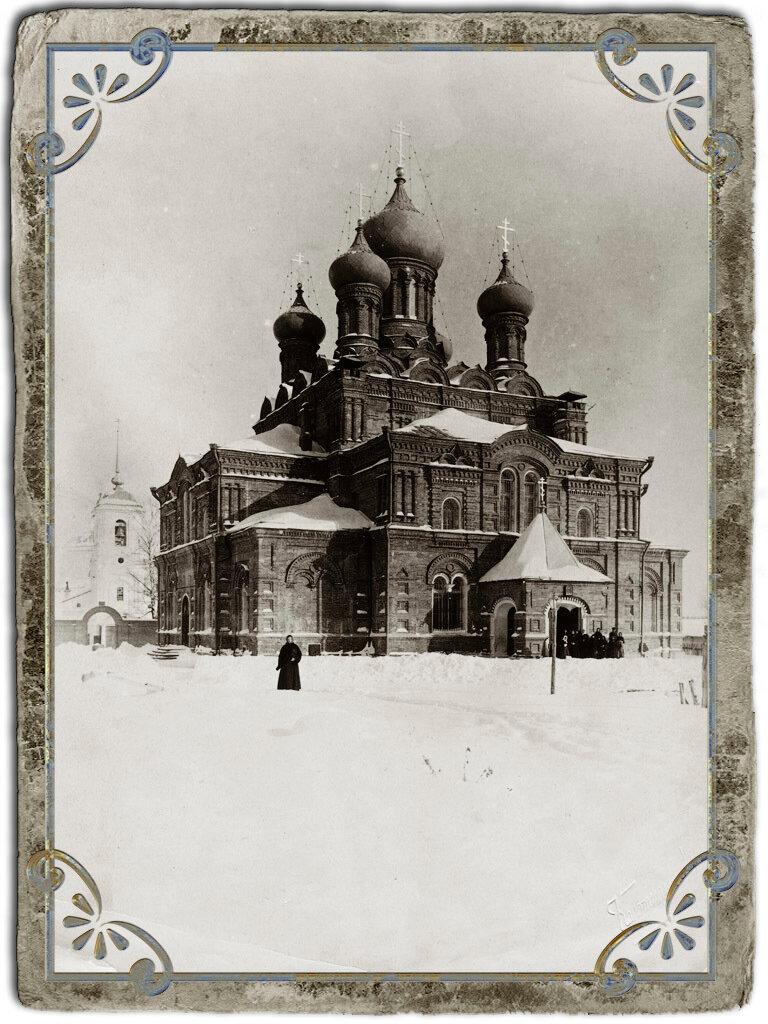 Троицкий собор Шел(т)домежского монастыря в Шестаковской пустыни