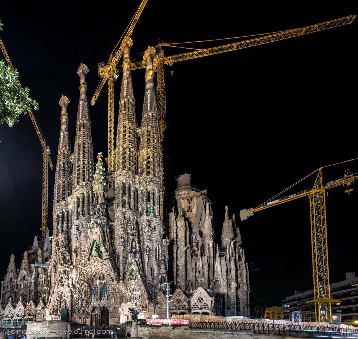 Sagrada Familia или Храме Святого Семейства