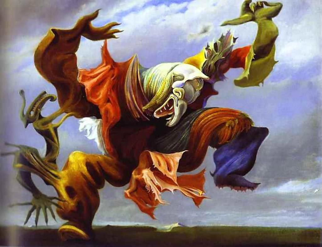 Ангел домашнего очага или триумф сюрреализма. 1937, Макс Эрнст(1891-1976)