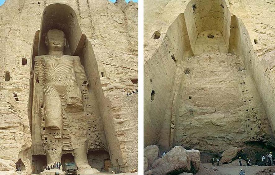 Уничтожение статуи Будды в Баниаме
