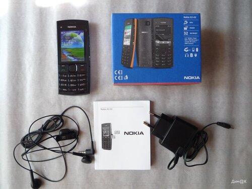 Nokia X2-02 (комплектация)