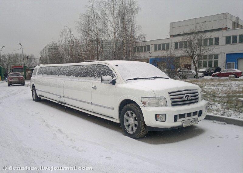 Infiniti QX лимузин