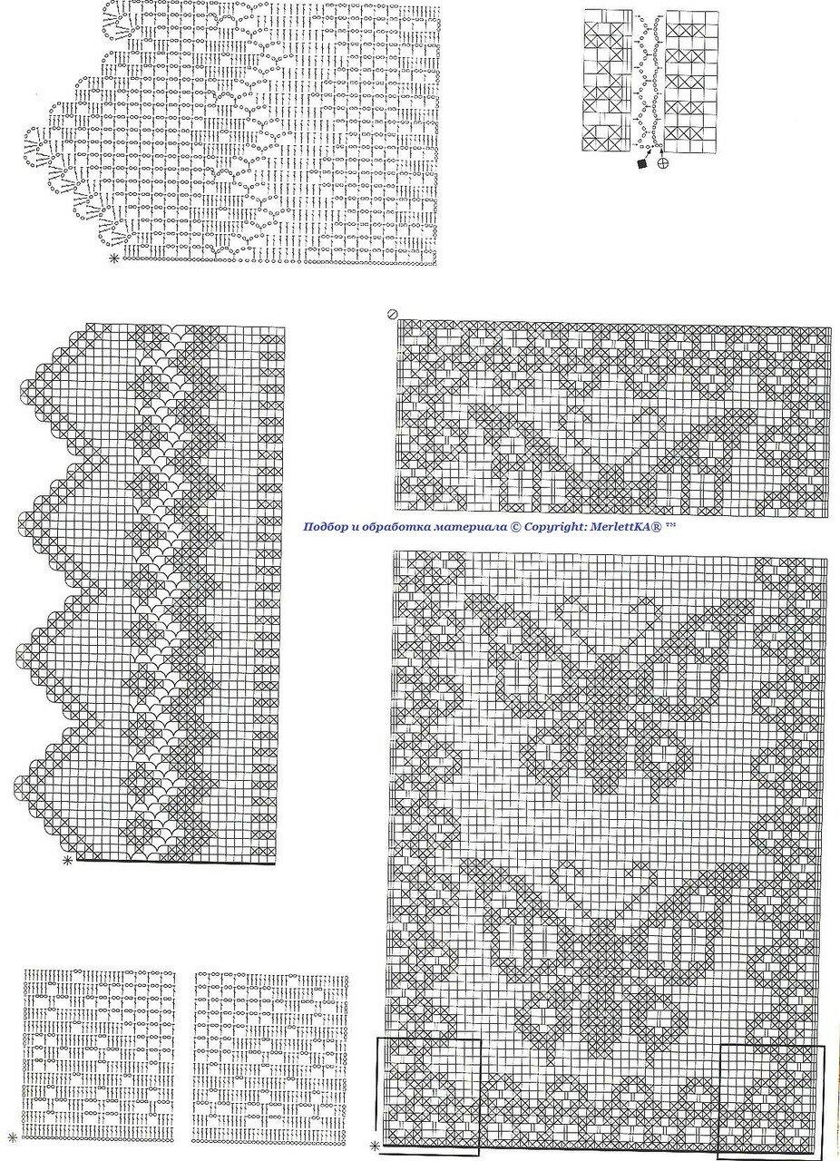 Delicadezas en crochet Gabriela: Colcha de mariposas