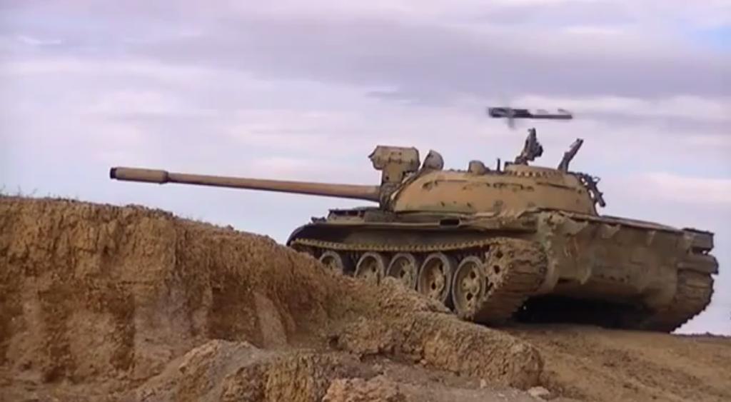 Испытания танка т-54 обр
