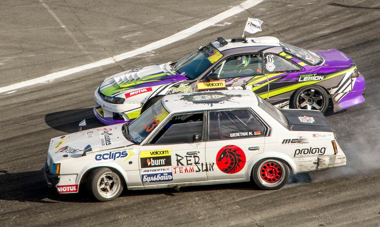 Максим Шепетюк (Toyota Corona) vs Андрей Пискарев (Nissan Silvia)