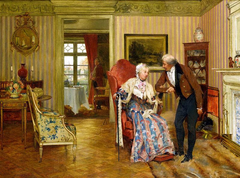 Walter Dendy Sadler (British, 1854-1923) - В течение пятидесяти лет - For fifty years