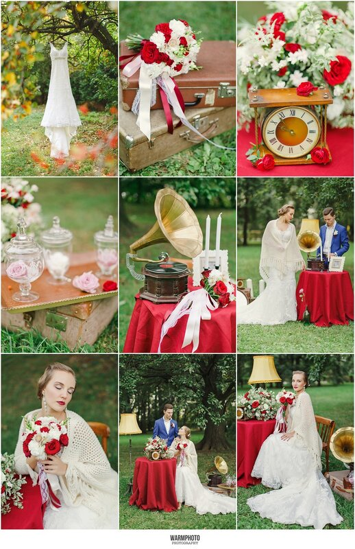 Vintage Fall Wedding