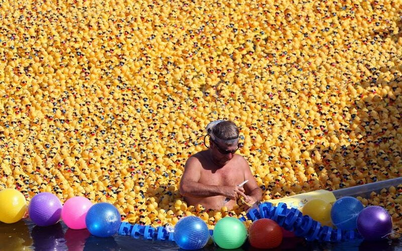 Great Rubber Ducky Race