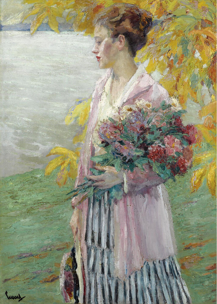 Edward Cucuel - An Autumn Walk.jpeg