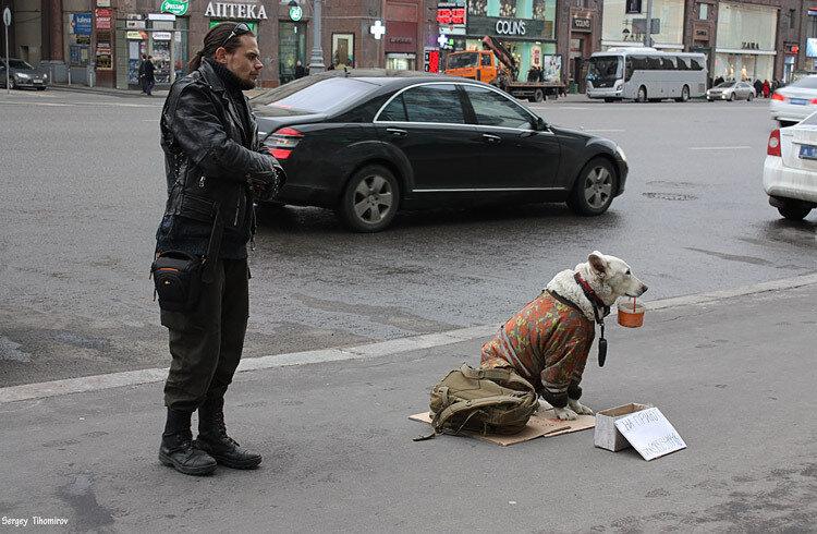 Контрасты Москвы.