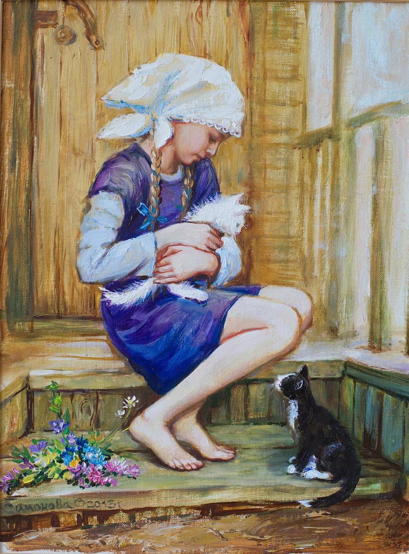 художник Ольга Симонова Чудесные мгновенья - Форум по искусству и инвестициям в искусство