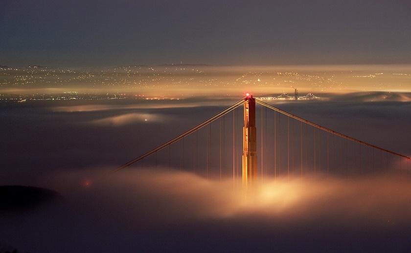 Красивые фотографии тумана в Сан Франциско, США 0 142268 cffdd254 orig