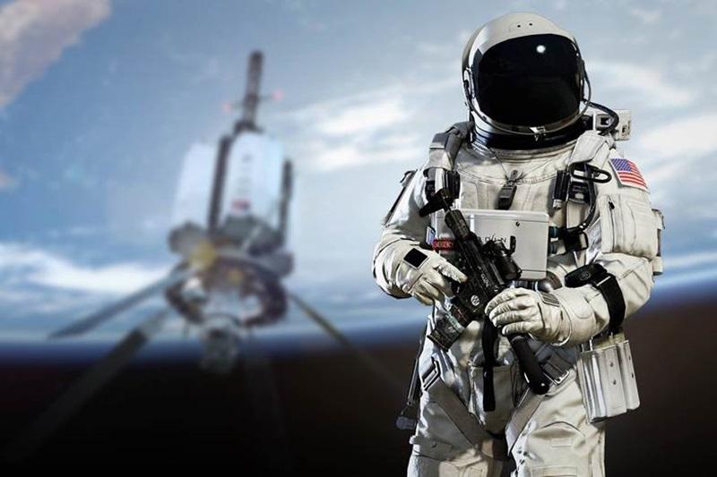 Разработка необычного оружия для космонавтов