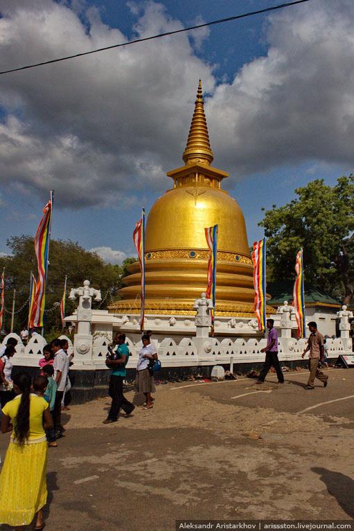 Шри-Ланка_Пещерный храм_01