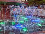 Светомузыкальный фонтан в Геленджике