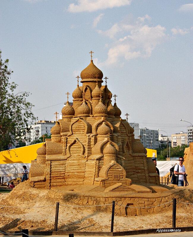 Скульптуры из песка «Тайны народов мира»