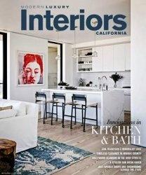 Журнал Modern Luxury Interiors California - Fall/Winter 2014