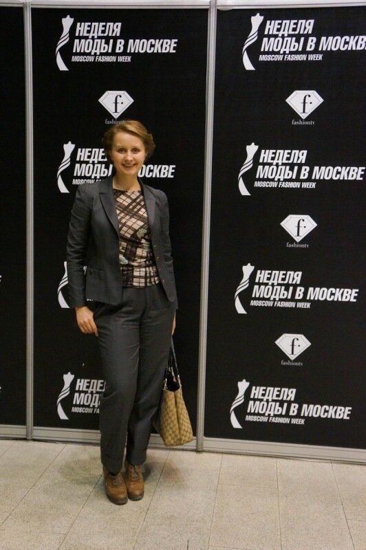 0 81565 1ff794dc XL Маша Цигаль на Moscow Fashion Week. Весна Лето 2013