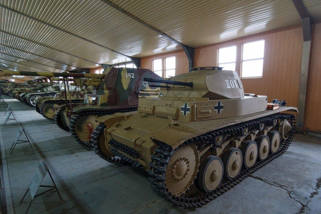 Panzerkampfwagen II Ausführung B. Лёгкий танк