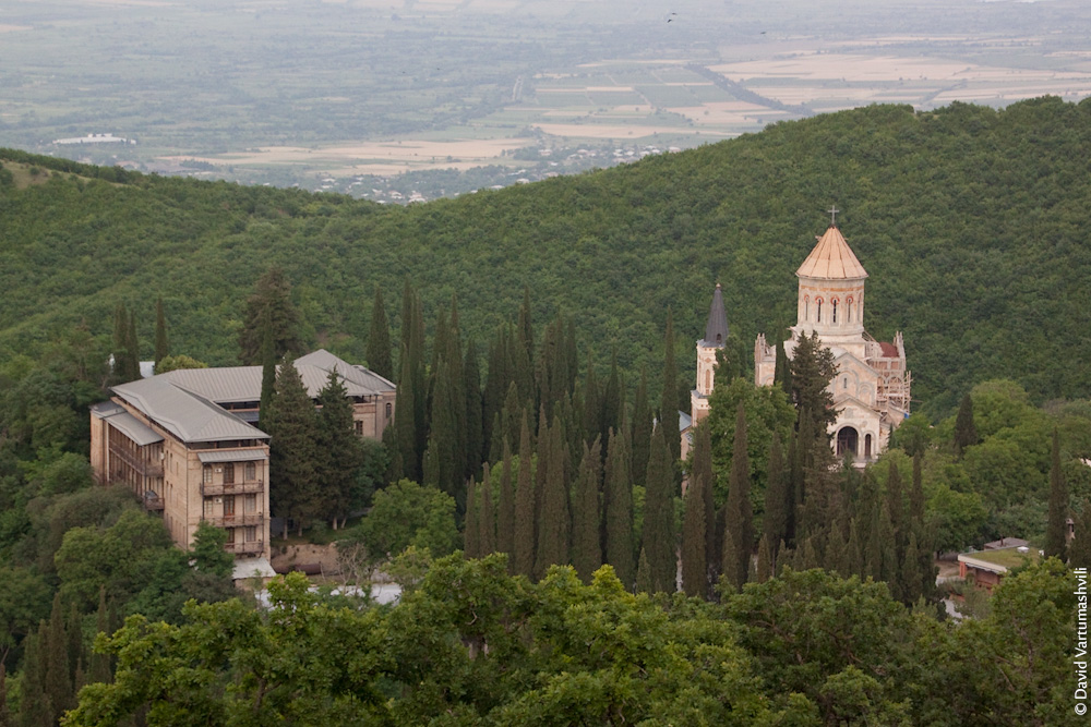 Грузия, монастырь Бодбе
