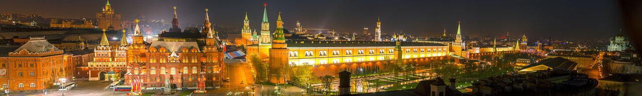 Кремль. Панорама.