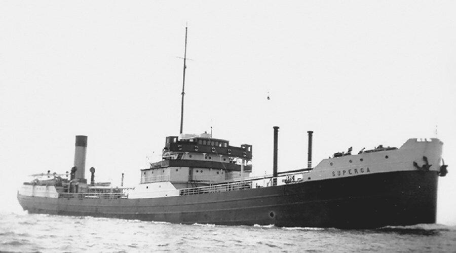 Итальянский танкер Суперга