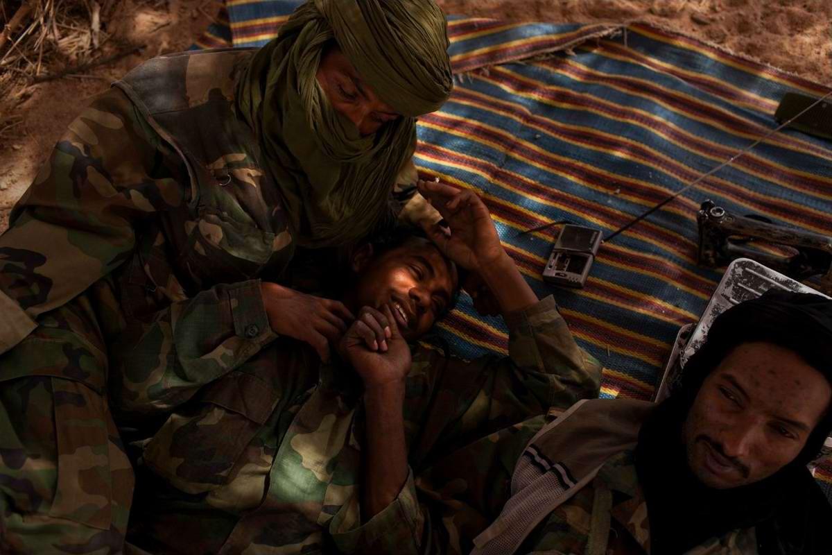 Воинственные североафриканские туареги на снимках фотографа из ЮАР Brent Stirton (7)