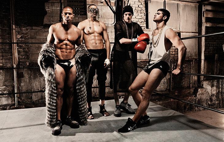 Суровые модные боксеры