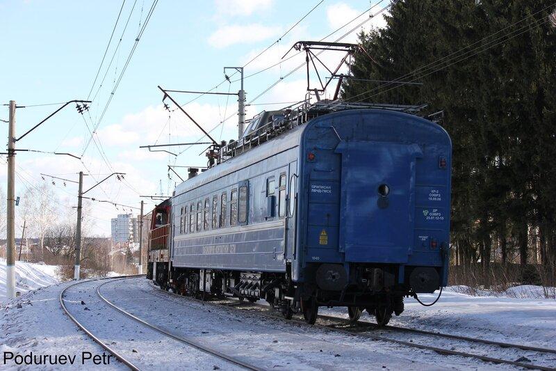 ЧМЭ3-5898 с электролабораторией