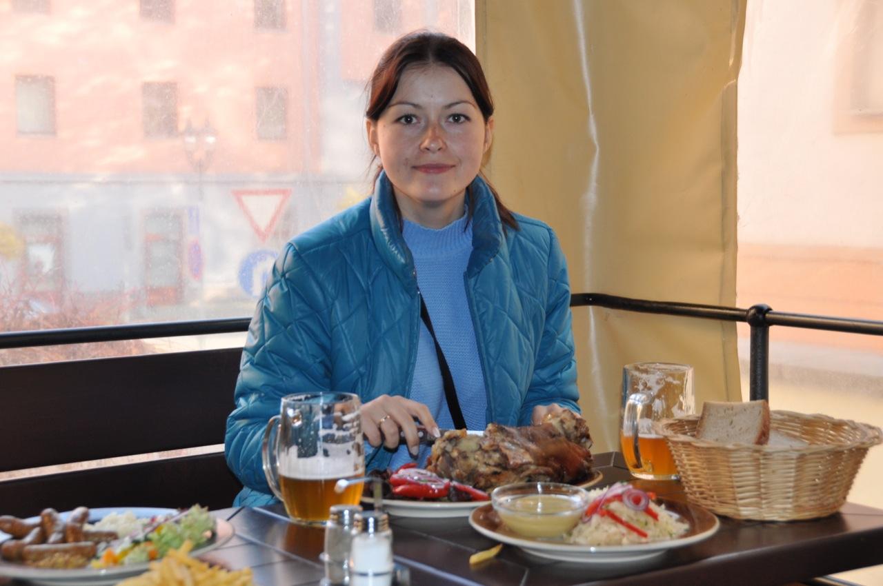 Размеры блюд в Чехии поражают