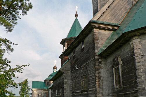 Троицкое церковь летнее здание
