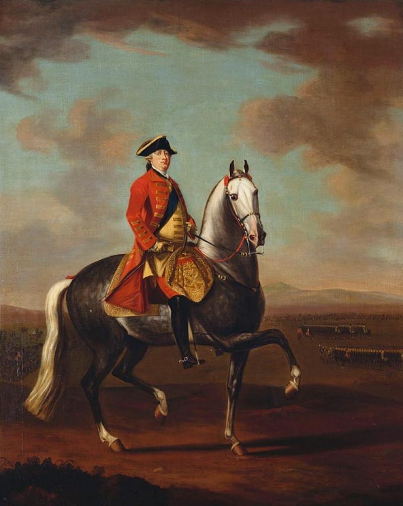 Дэвид Morier (1705 г.? -70)Георг III (1738-1820)  c.1765