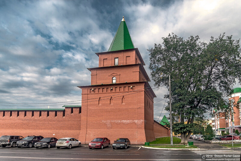 Царевокакшайский Кремль