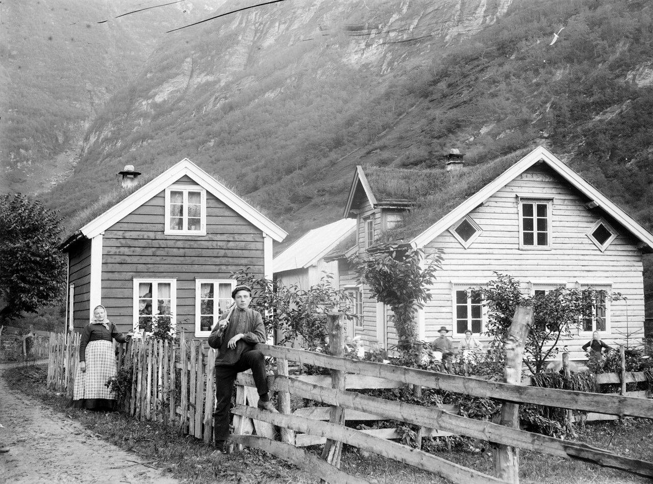 Гамлет, западная Норвегия, ок. 1890-1910.