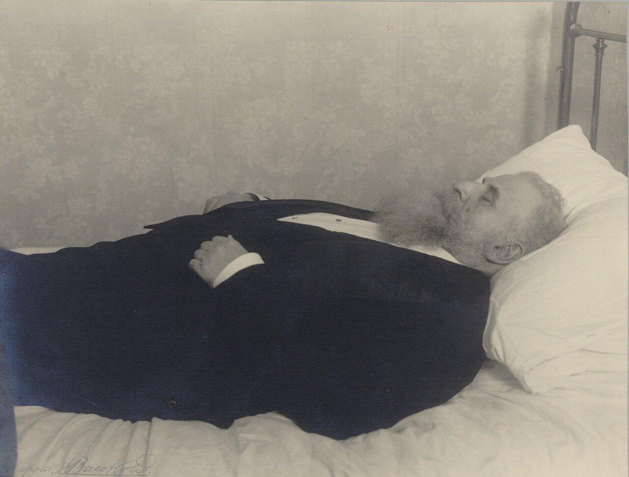 Рауль Пюньо на смертном одре.