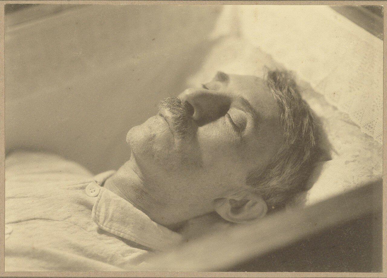 1923. Портрет Виллема Витсен на смертном одре.