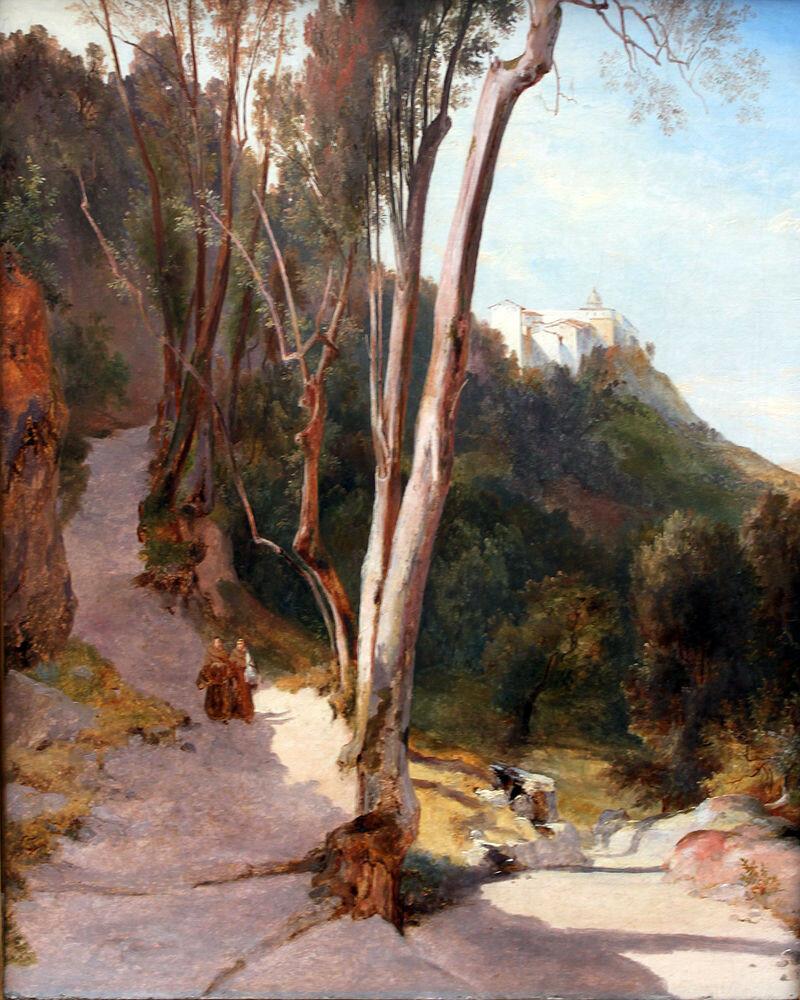 1830_Blechen_Weg_nach_Castel_Gandolfo_anagoria.JPG