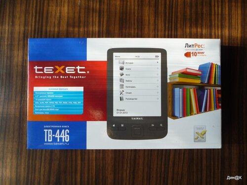 Texet ТВ-446 (лицевая сторона упаковки)