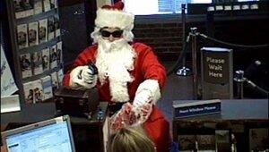 Четыре Деда Мороза ограбили ювелирный магазин
