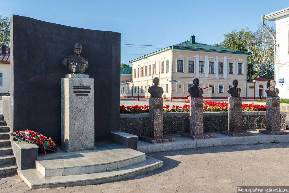 Елабуга, площадь Памяти.