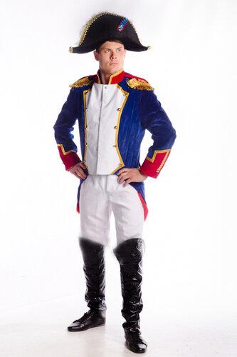 Мужской карнавальный костюм Наполеон I Бонапарт