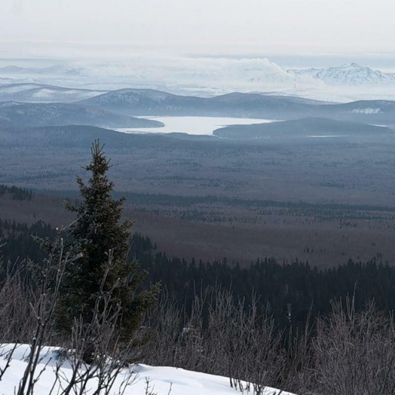 Вид на озеро зимой (16.05.2013)