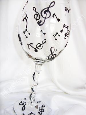 украшение бокалов